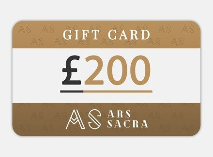 GIFT CARD 200 GBP