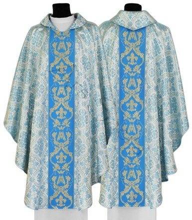 Marian Gothic Chasuble 081-N14