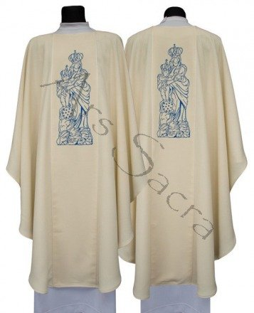 Marian Gothic Chasuble G608-K27