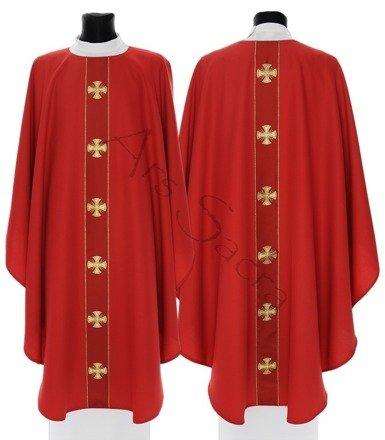 """Chasuble gothique '""""Croix de Malte"""" G104-C"""