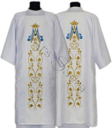 Marianische gotische Dalmatik D537-B25