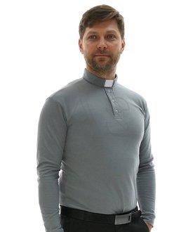 Koszula kapłańska polo PD-S