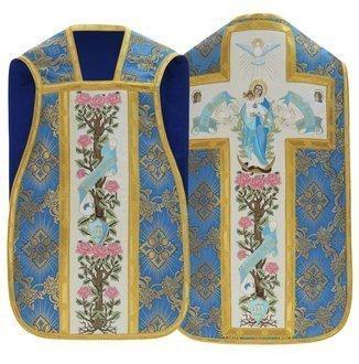 "Maryjny ornat rzymski ""Ave Maria"" R473-N9"