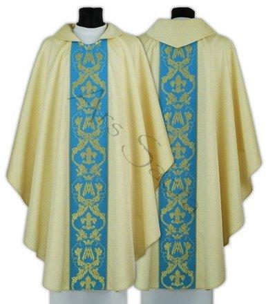 Maryjny ornat gotycki 081-GN54