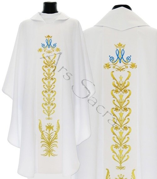 Maryjny ornat gotycki 513-B