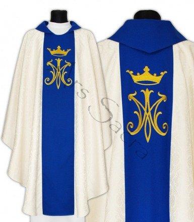 Maryjny ornat gotycki 600-KN25