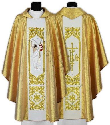"""Ornat gotycki """"Jezus Zmartwychwstały"""" 517-G"""