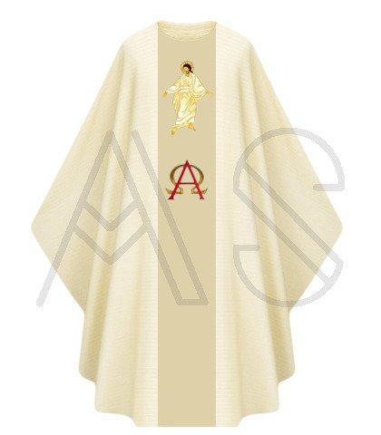 """Ornat gotycki """"Jezus Zmartwychwstały"""" G444-AK"""