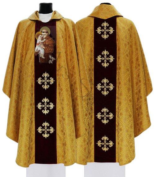 """Ornat gotycki """"Święty Antoni z Padwy"""" 417-AGC16"""