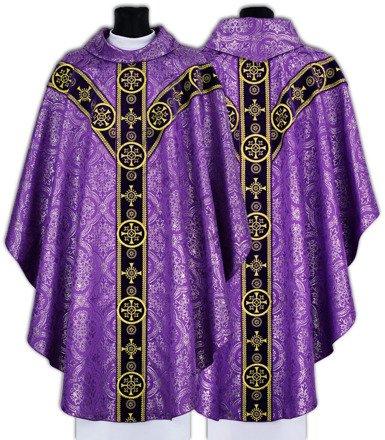 Ornat semi gotycki Y579-AF14g