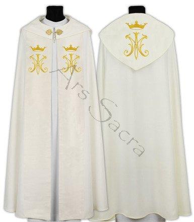 Capa pluvial gótica mariana K600-K