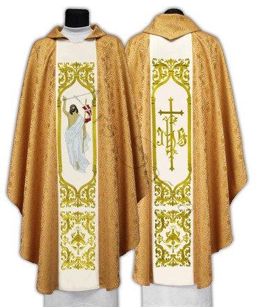 """Casulla gótica """"Jesús Resucita"""" 517-G16"""