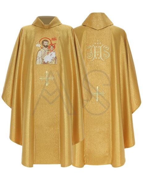 "Casulla gótica ""Santa José de Nazaret"" 432-G63g"